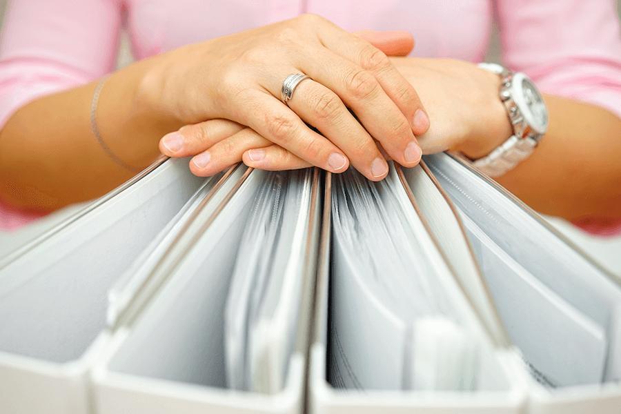 organized folders