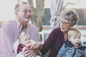 Aging parents photo