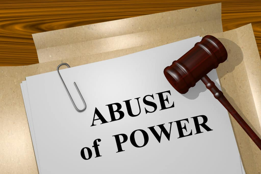 abusing your power of attorney